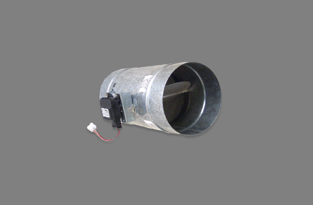 Madel ZC, Motorised damper at 24Vdc for circular ducts