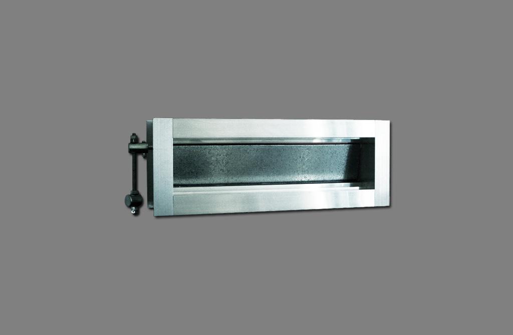 Madel ZG, Adjustable dampers for rectangular ducts